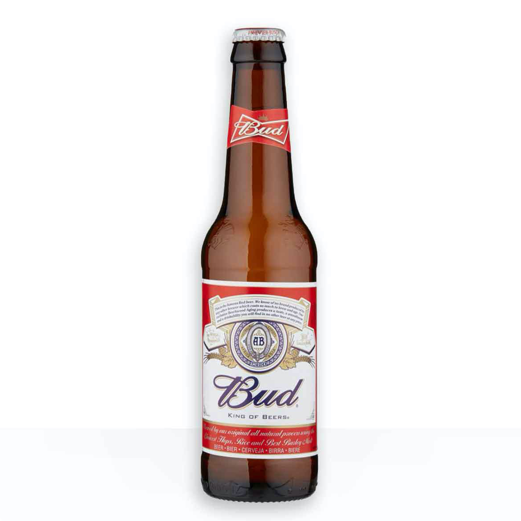 BIRRA BUD 5 % 33 CL VP