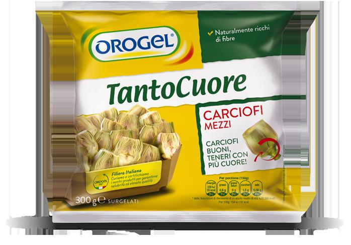 CARCIOFI MEZZI TANTO CUORE 2 X 2.500 G