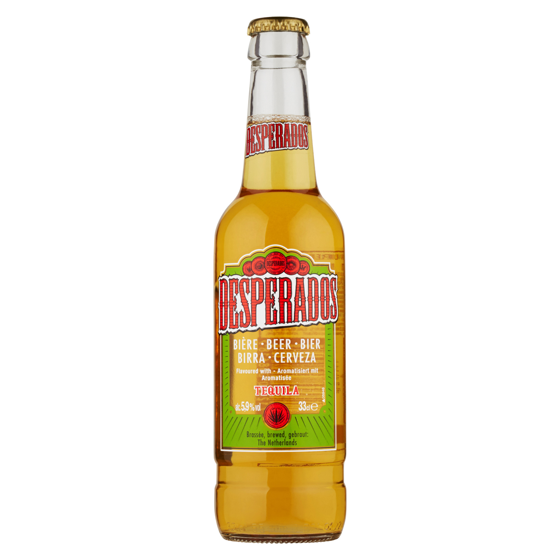 BIRRA DESPERADOS 5,9 % 33 CL VP